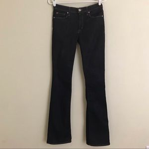 Hudson Jeans Mid Rise Bootcut Jeans 27 Long 33""